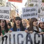 Estudiantes en defensa de la educ. publica