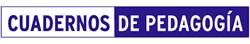 Logo-Cuadernos de Pedagogia