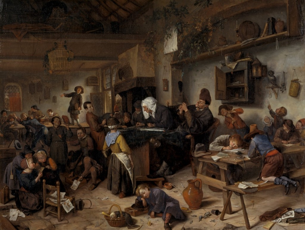 National Galleries of Scotland A School For Boys And Girls 1670 Jan Steen