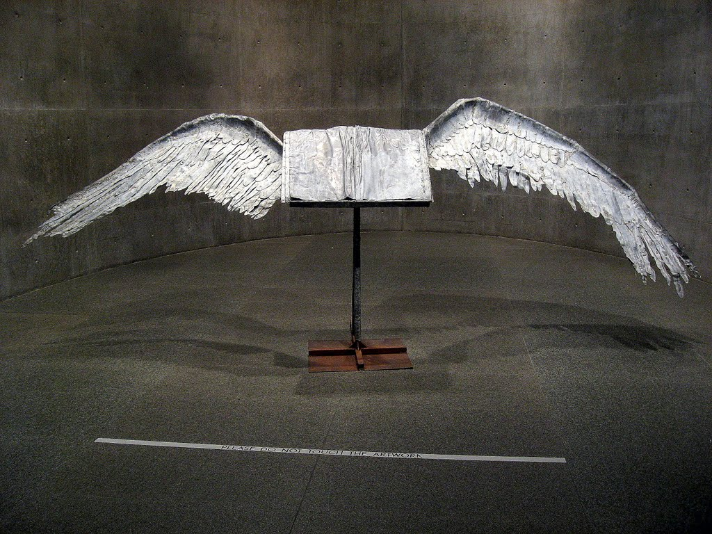 Book with wings, Anselm Kiefer
