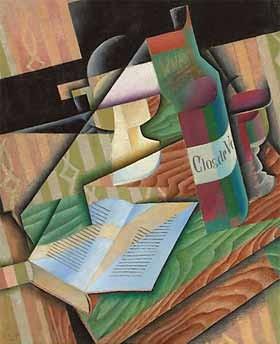 El libro (1911) - Juan Gris