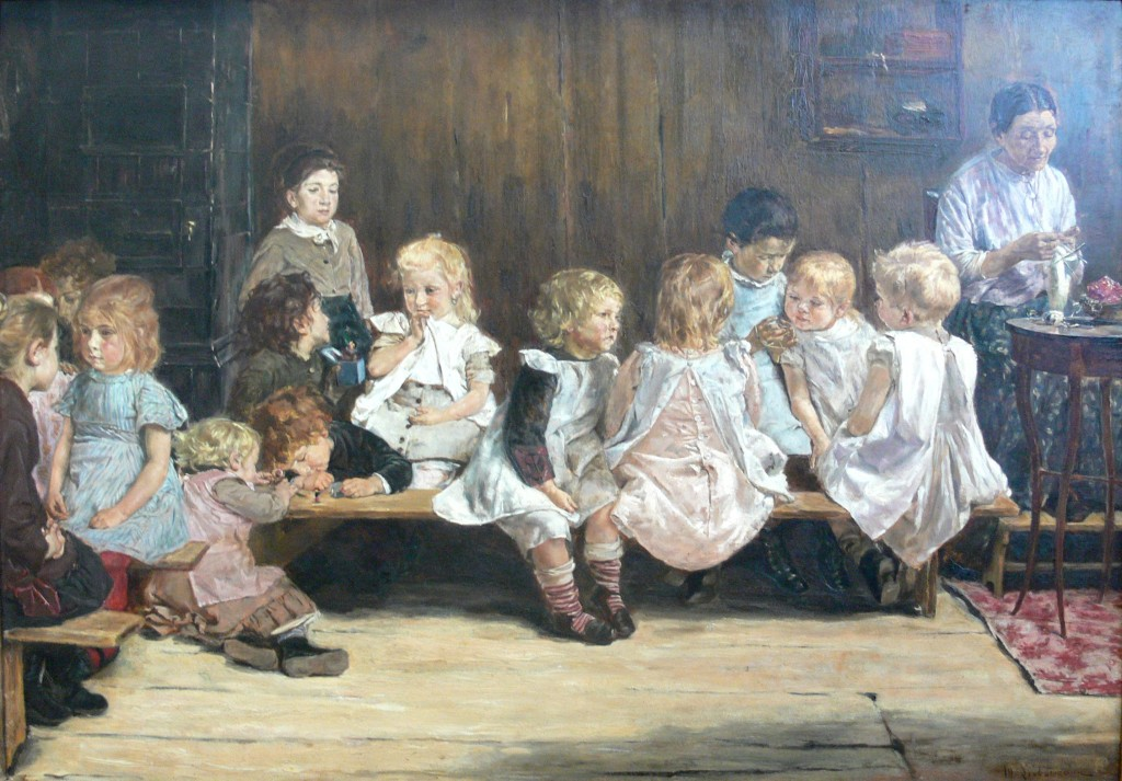 Max Liebermann (1847-1935) - Infants School in Amsterdam