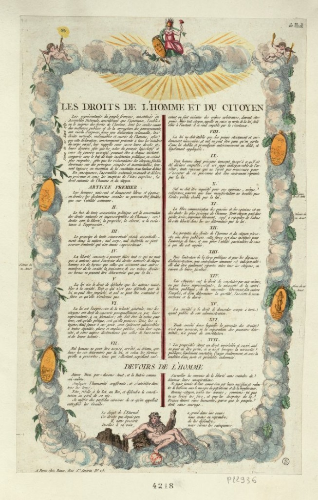 Les Droits de l'Homme et du Citoyen