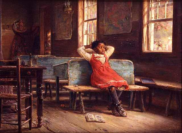 "Edward Lamson Henry (1841–1919) -  ""At School"""