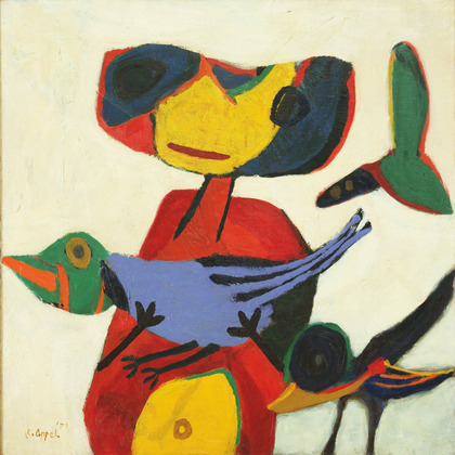 """Child with Birds"". 1950"