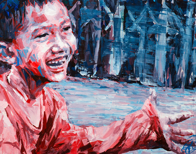 "Henri Lamy - ""Bangkok Street kid"""